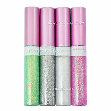 4x Shiny Glitter Liquid Eyeliner Eye Makeup in Seconds Party Train Fast Use 24