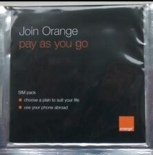 Orange UK Pay As You Go Sim Card Old Type 2G Brand New, Sealed