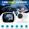3.5'' LCD Digital Baby Monitor Audio Wireless Video Camera Night Vision Safety!!
