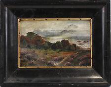 OLIO-dipinto sign. costa del Mar Baltico Maritime paesaggio impressionistisch 99860015