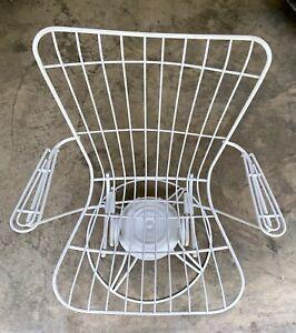 Vintage Mid Century Modern Homecrest Patio Chair MCM Porch Deck Perch Hardware