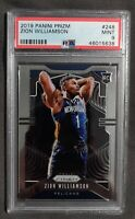 2019 Panini Prizm Zion Williamson #248 Rookie Card PSA 9 MINT