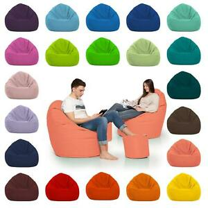 Sitzsack PEAR Birnen XL Sitzkissen Bean Bag Kissen Sessel Outdoor Stuhl Indoor