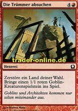 4x Die Trümmer absuchen (Survey the Wreckage) Return to Ravnica Magic