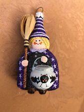 New Listing2007 Patricia Breen Witch Trickster - Purple / Cat / Bats
