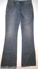 New NWT $295 Theyskens' Theory Corduroy Pants Jeans Womens 27 Flare Blue Indigo