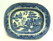 Unboxed British Georgian Blue & White Transfer Ware Pottery