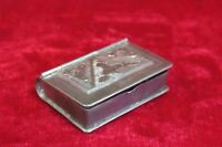 Small Brass Case Box Old Vintage Decorative Collectible PM-23