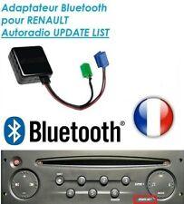 ADAPTATEUR BLUETOOTH AUXILIAIRE RENAULT AUTORADIO UDAPTE LIST clio 2 3 modus