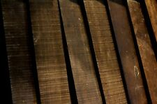 tone wood  Ebenholz,  finger board Ebony gitarre ca.(520 x 75 x9mm) x1
