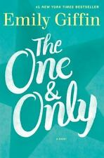 The One and Only by Emily Giffin (2014, Hardcover)