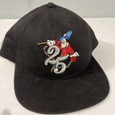 New listing Vint Walt Disney World 25th Anniversary 1996 Mickey Mouse Graphic Snapback Hat