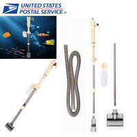 Aquarium Fish Tank Vacuum Syphon Cleaner Pump Sand Wash Electric Water Filter