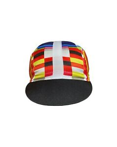 Galibier Cotton Cycling Cap Fixie Made in Italy casquette capsnothats Orange BL