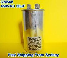 CBB65 450VAC 35uF Air Conditioner Appliance Motor Run Capacitor **NEW**