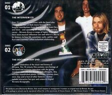 Nirvana intervista CD and DVD Documentary CD + DVD NUOVO