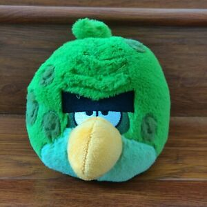 """Angry Birds 2012 Space Terence Green Bird Animal Plush 5"""" (NO SOUND)"""