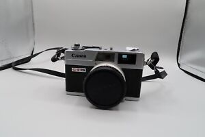 Canon Canonet QL17 Rangefinder Film Camera 40mm f/1.7 As is From Japan
