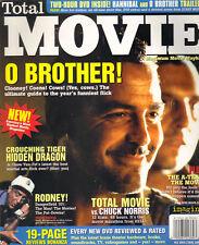 GEORGE CLOONEY Total Movie Magazine 12/00 RODNEY DANGERFIELD CHUCK NORRIS
