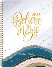 2021 2022 Monthly Daily Planner 18 Month Thick Paper Calendar Organizer Journal
