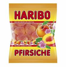 4 x HARIBO PFIRSICHE - PEACHES CANDY SWEETS - ORIGINAL FROM GERMANY - TASTY !