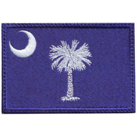 South Carolina Flag Embroidered Patch