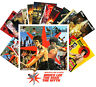 Postcards Pack [24 cards] Bruce Lee and Chuck Norris Vintage Movie Poster CC1075