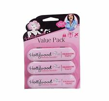 Hollywood Fashion Body Tape Double Sided 36 Piece 3 Pack Invisible