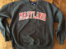 Vintage Maryland Terrapins MV Raised Letters Sweatshirt Medium