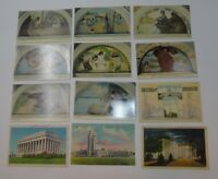 Vintage Antique Postcards WASHINGTON DC Lot of 33 Great Lot