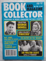 BOOK AND MAGAZINE COLLECTOR.GEORGE ORWELL.NO 155,FEB 1997.IVANHOE,COUNTRY LIFE