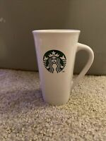 Starbucks 2012 Large Coffee Ceramic Travel Tumbler Mug Siren Mermaid 16 oz