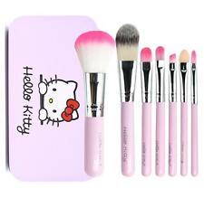 Cute For Hello Kitty Mini Professional Makeup Cosmetic Brush Set 7 pcs Kit