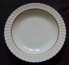 Antique Porcelain B&C Bernardaud Limoges Porcelain Gadroon Soup Plate / 12 avail