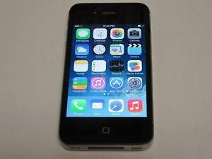 Apple iPhone 4 A1349 8GB Black Verizon Wireless Smartphone/Cell Phone