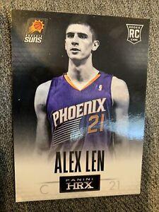 2013-14 Panini HRX #1 Alex Len Rookie Card Phoenix Suns RC
