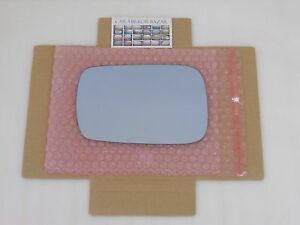LBF139 Replacement BLUE Mirror Glass for 2007-13 Acura MDX Driver Side View Left