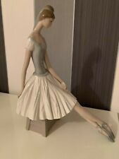 "Vintage Lladro ""Ballerina"" Nao retired and rare figurine Hand Made"