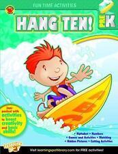 Fun Time Activities: Hang Ten! Activity Book, Grade PK (2013, Paperback)