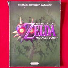 Nintendo N64 ► Offizielle Spieleberater - The Legend of Zelda - Majora's Mask ◄