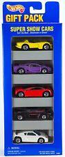 Hot Wheels Super Show Cars 5 Pack Gift Set w/Vector Avtec Purple Jaguar 1996 C2
