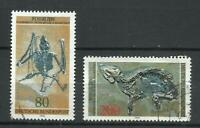 7444A--serie completa Alemania fosiles 1978 821/2. 7,00€. PREHISTORIA