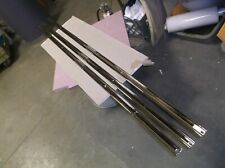 1967-77 Chevrolet Truck Bed Strips, Chrome Plated, 77 inches length