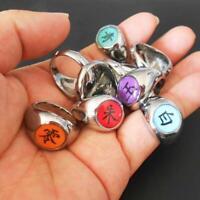 Anime Akatsuki Member's Rings Itachi Uchiha Zhu Yu Finger Metal Ring F1M3