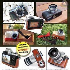 TOMA Leather HAND MADE Camera Case Olympus Pen E-P3 PL3 Fuji X10 SONY NEX 5 5N 7