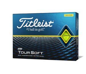 Titleist Tour Soft Golfbälle Gelb