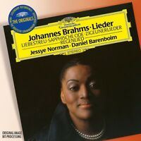 JESSYE/BARENBOIM,DANIEL NORMAN - BRAHMS: LIEDER  CD NEW+ BRAHMS,JOHANNES