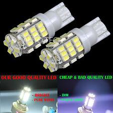 2X T10 168 6000K Xenon White 42LED Backup Reverse Lights Bulbs