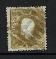 Portugal SC# 27, Used, Perf 12.5, Top thin, see notes - Lot 072317