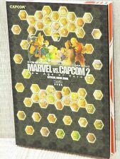 MARVEL VS. CAPCOM 2 Official Guide PS2 Xbox Book EB35*